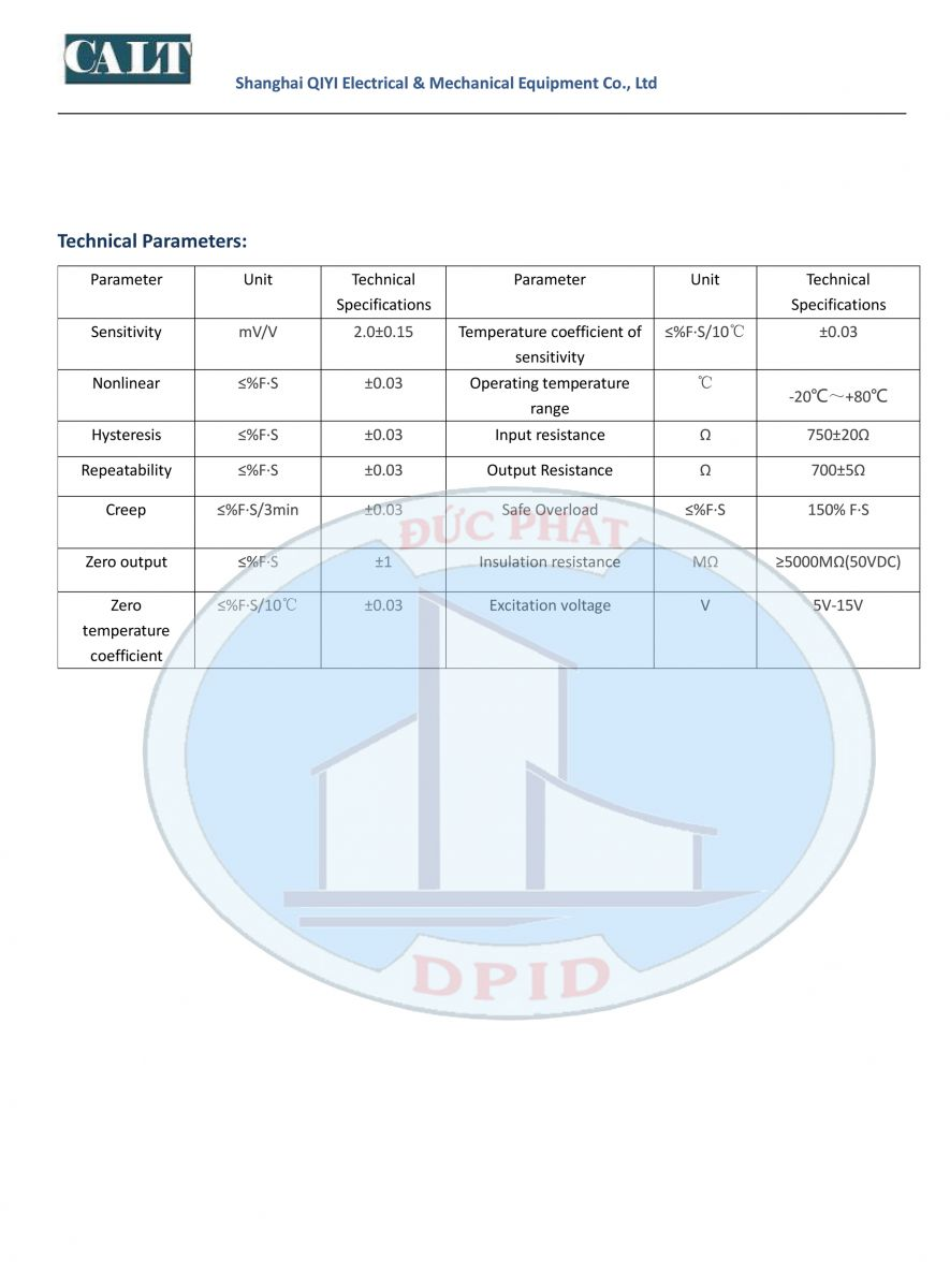 Loadcell ESM Trung Quốc