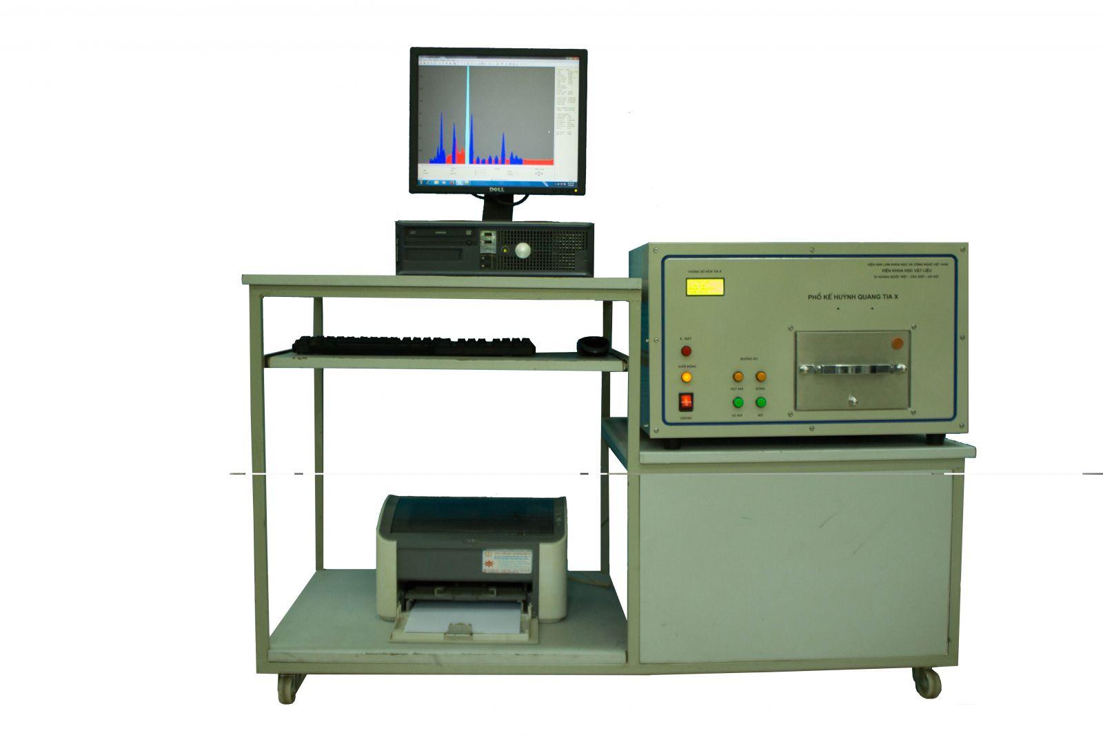 Máy phân tích nhanh thành phần hóa học của vật liệu VietSpace 5008