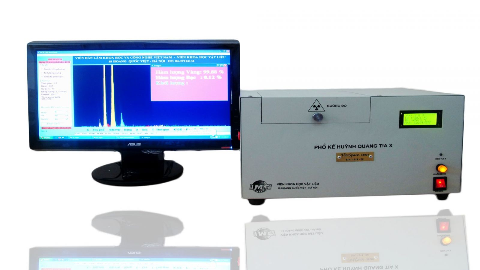 Máy phân tích thành phần kim loại quý VietSpace 3500T/4000