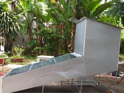 Ứng dụng công nghệ bẫy nhiệt ánh sáng mặt trời để sấy khô hoa